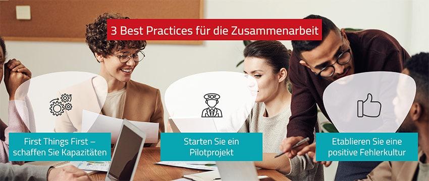 3 Best Practices für die Zusammenarbeit von Start-ups