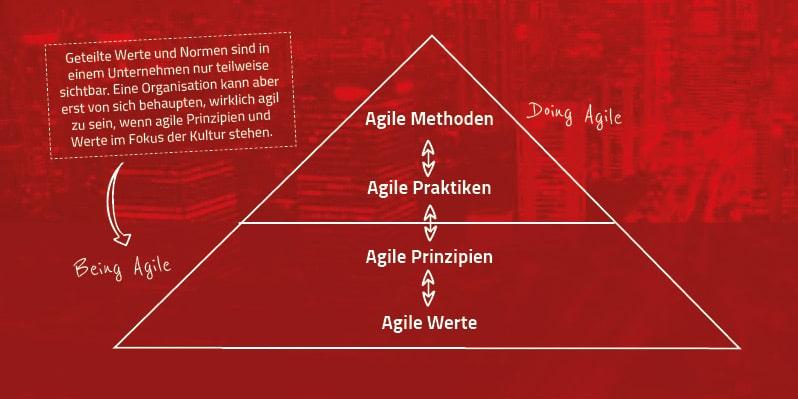 Agiles Arbeiten Werte und Prinzipien im Unternehmen