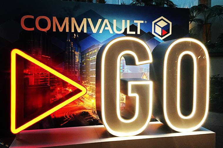 Commvault Go 2018 - ahd Blog