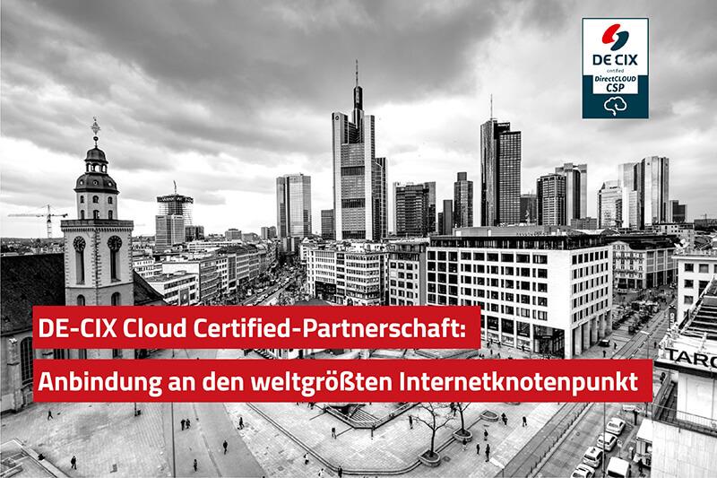 DE-CIX Partnerschaft Cloud Partner - ahd Blog