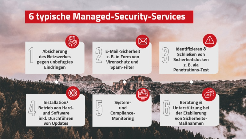 Managed-Security-Services: Welche Dienste gibt es?