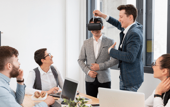 Blogbeitrag Virtual Reality Social-Media