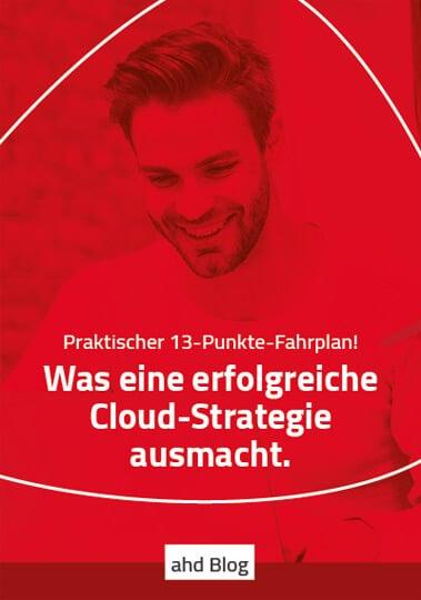 Cloud-Strategie: Hinweis auf Blogbeitrag