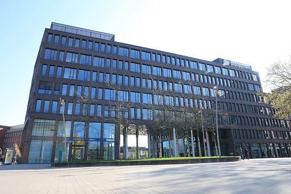 ahd Standort Dortmund (Ansicht Eingang)