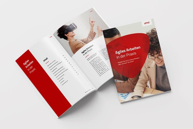 Vorschaubild Whitepaper Agiles Arbeiten in der Praxis