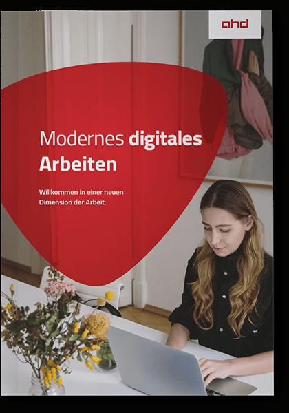 Vorderseite Whitepaper Modernes digitales Arbeiten