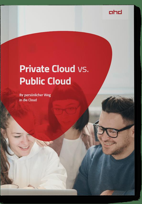 Vorderseite Whitepaper Private Cloud vs. Public Cloud